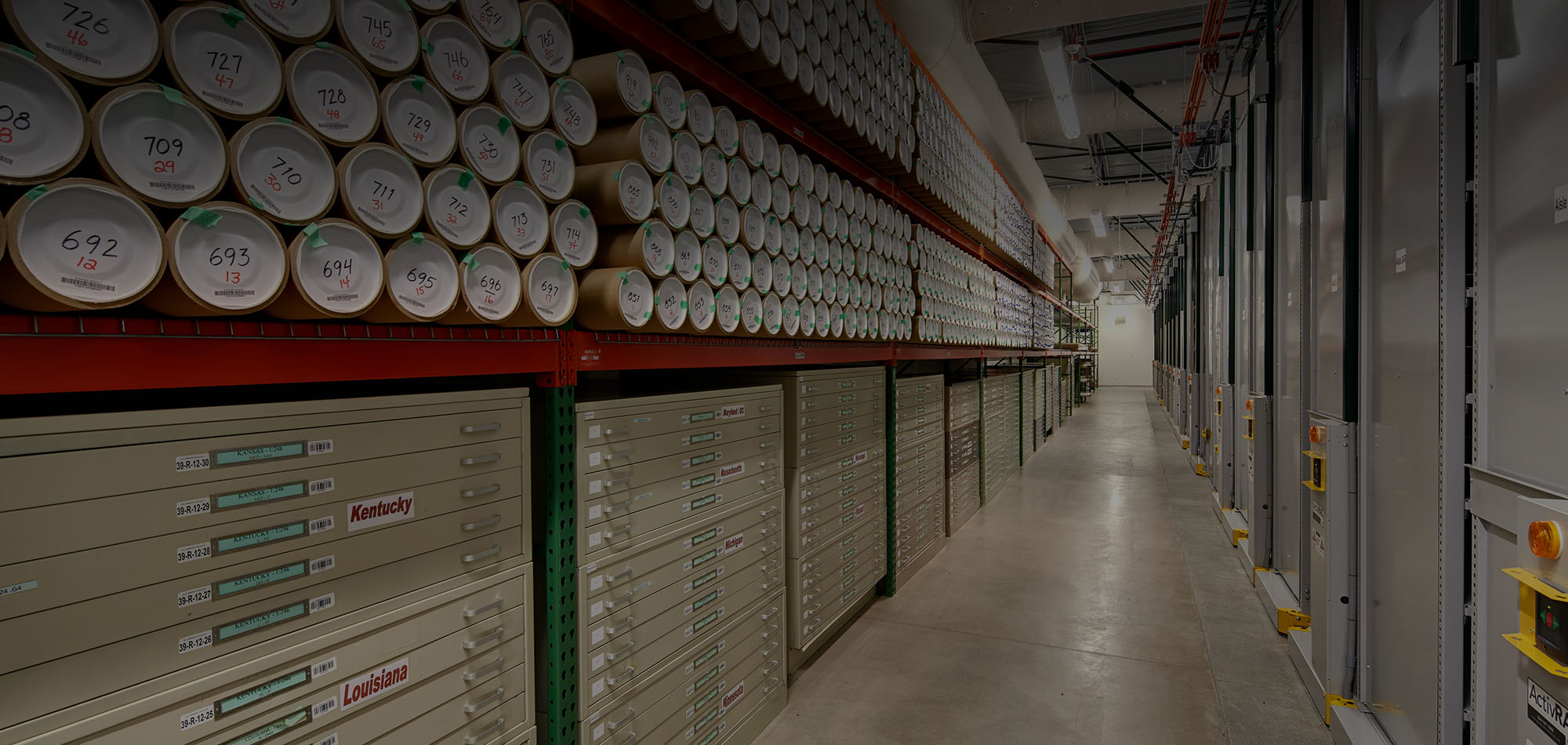 Syracuse University's High-Density Library Storage Facility
